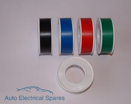 HIGH QUALITY roll of PVC insulation tape 15mm x 10mt